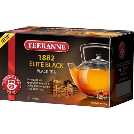 Чай черный Teekanne 1882 элит блэк 20 пакетиков
