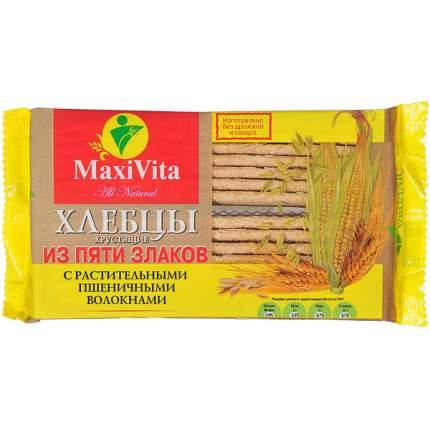Хлебцы Maxi Vita пшеничные волокна 5 злаков 150 г