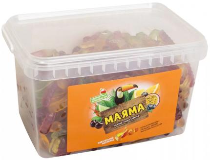 Мармелад жевательный Маяма ассорти вкусов 1.3 кг