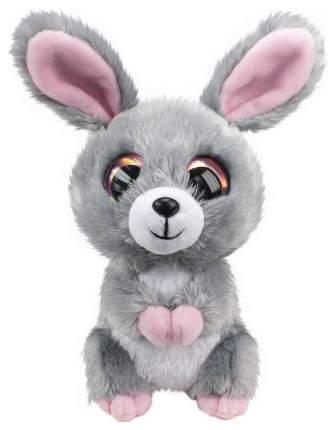 Мягкая игрушка Tactic Кролик Pupu, серый, 15 см