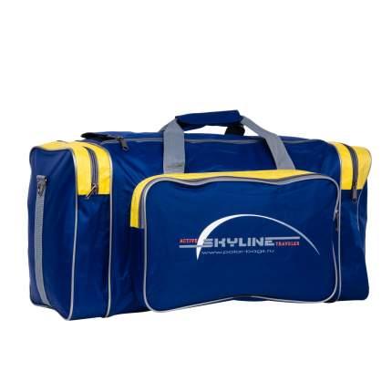 Дорожная сумка Polar 6008/6 желтая 56 x 30 x 30