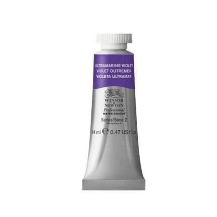 Акварель Winsor&Newton Professional ультрамарин фиолетовый 14 мл