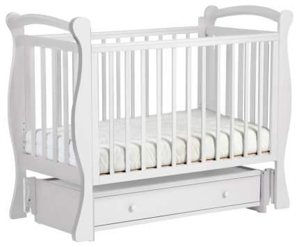 Детская кровать Кубаньлесстрой Кубаночка-7 Белый