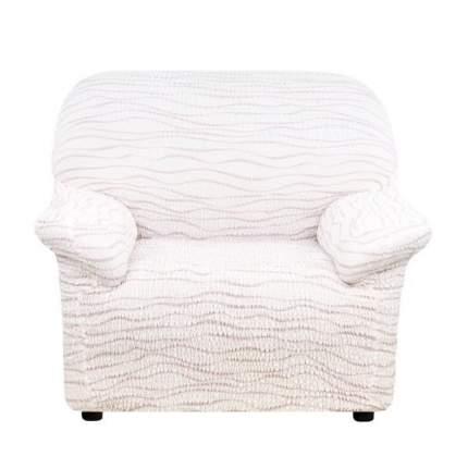 Чехол на кресло Еврочехол Тела Ридже молочный