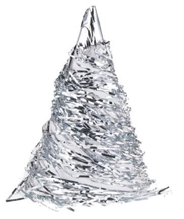 Дождик Snowmen Е60130 Серебристый