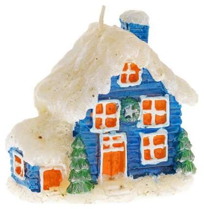 Новогодняя свеча Snowmen Е50520 Разноцветный
