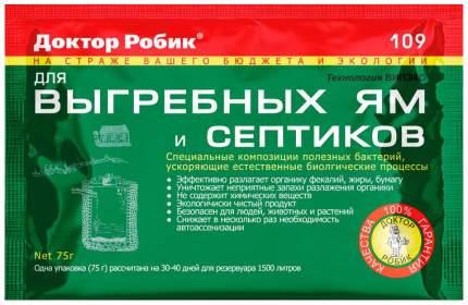 Жидкость для биотуалета Доктор Робик 109 75 г