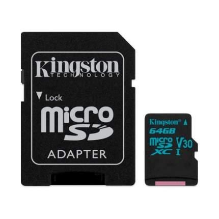 Карта памяти Kingston Micro SDXC Canvas Go 64GB