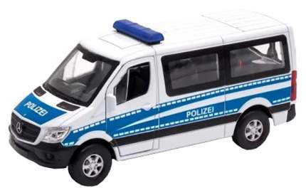 Модель машины 1:50 Mercedes-Benz Sprinter Полиция Welly 43731P