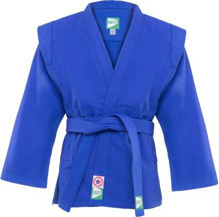 Куртка для самбо Green Hill JS-302, синяя, р.5/180