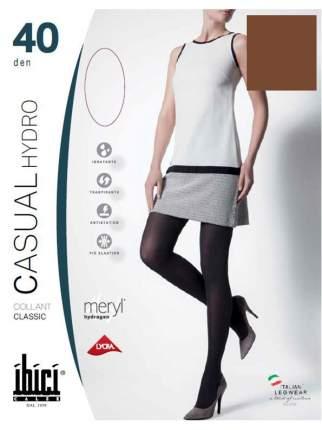 Прозрачные колготки Ibici Casual 40 Hydro цвет кофе, размер 1
