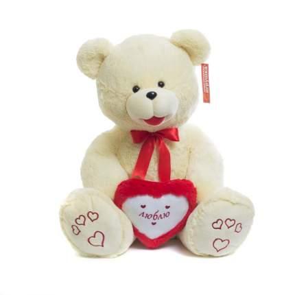 Мягкая игрушка Нижегородская игрушка Медведь с сердцем (большой) 85 см