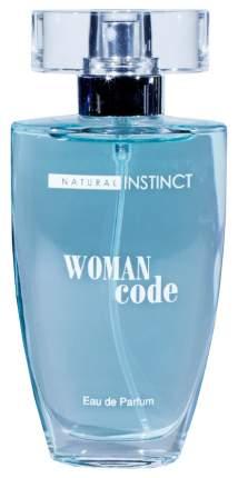 Женские духи с феромонами Парфюм престиж Natural Instinct Woman Code 50 мл
