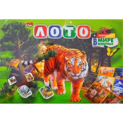 Лото в картинках Danko Toys В мире животных DT G40Ж