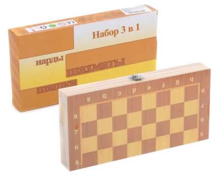 Настольная игра 3 в 1 Shantou Gepai IT103565