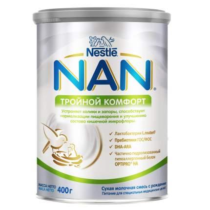 Молочная смесь 1 (от 0 до 6 мес.) NAN Тройной комфорт 400 г