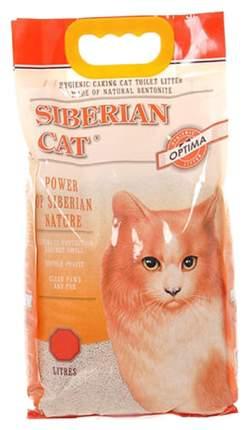 Комкующийся наполнитель туалета для кошек Сибирская Кошка Оптима 25245 5 л
