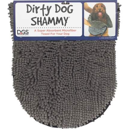 Полотенце для собак Dog Gone Shammy, микрофибра, серое, 33 х 79 см