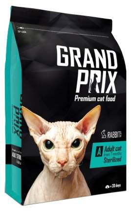 Сухой корм для кошек Grand prix Adult Sterilized, для стерилизованных, кролик, 8кг