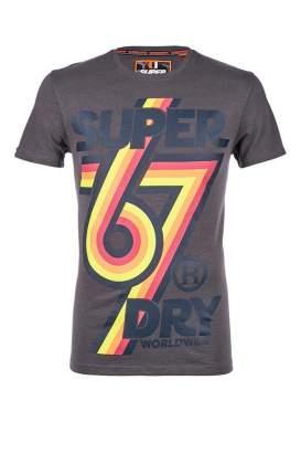 Футболка мужская Superdry серая 46