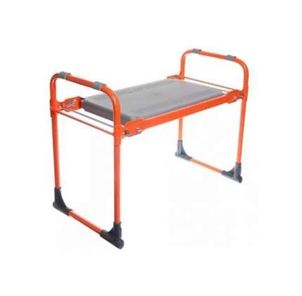 Скамейка садовая складная Nika СК, 560х290х430мм, цвет оранжевый