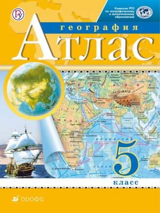 Атлас, География, 5 кл, Рго (Фгос)