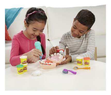 Набор для лепки из пластилина play-doh мистер зубастик b5520