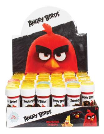 Angry birds, мыл.пуз., 50мл, в д./б.
