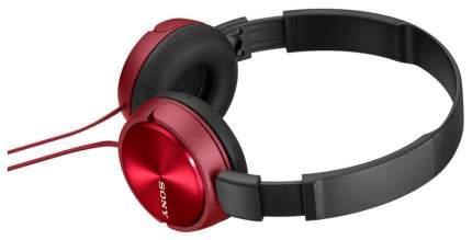 Наушники Sony MDR-ZX310AP Red