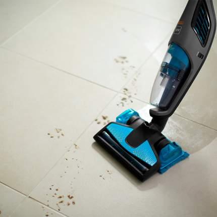 Вертикальный пылесос Philips PowerPro Aqua FC6401/01 Blue/Black