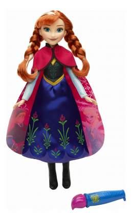 Кукла Disney Anna в наряде с проявляющимся рисунком b6699 b6701