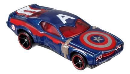 Машинка Hot Wheels Капитан Америка BDM71 DJJ57