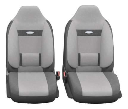 Комплект чехлов на сиденья Autoprofi Comfort COM-1105H D.GY/L.GY (M)