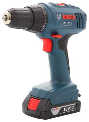 Аккумуляторная дрель-шуруповерт Bosch GSR 1800-Li 06019A8307