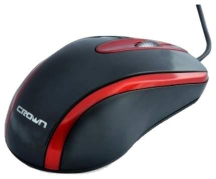 Проводная мышка Crown CMM-014 Red/Black