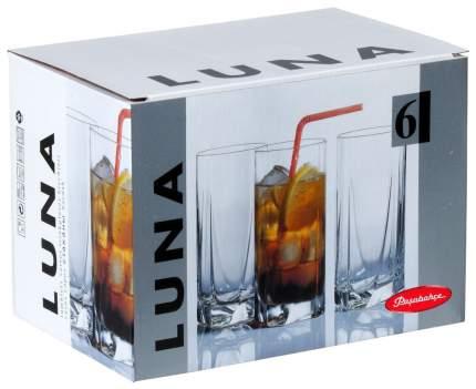 Набор стаканов Pasabahce luna 390 мл 6шт