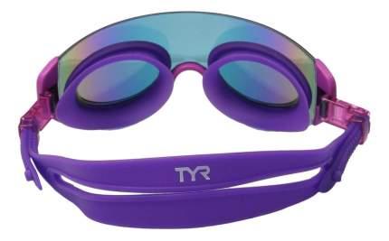 Очки-полумаска для плавания TYR Renegade Swimshades Mirrored фиолетовые (973)