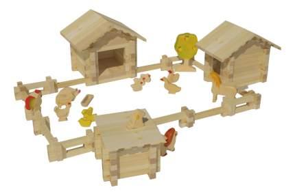 Конструктор деревянный Лесовичок Солнечная ферма №3