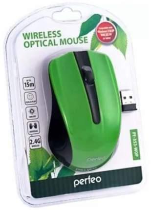 Беспроводная мышка Perfeo PF-353-WOP-GN Green/Black