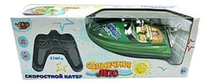 Радиоуправляемый катер YAKO Toys Катер Солнечное лето