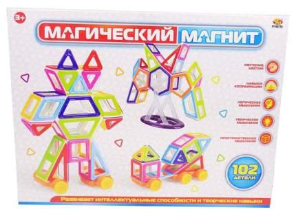 Конструктор ABtoys Магический магнит 102 детали PT-00750