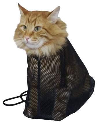 Сетка-фиксатор для купания кошек Vergas Soft Котокупальник, черный