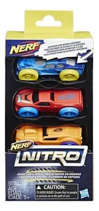 Набор пластиковых машинок NERF Нитро №2