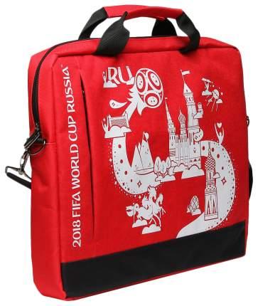 "Сумка для ноутбука 15.6"" Crown CM-F-B7001 White/Red"