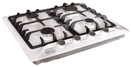 Встраиваемая варочная панель газовая RICCI RGN-640 WH White