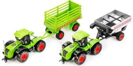 Трактор Технопарк трактор зеленый 77039-r