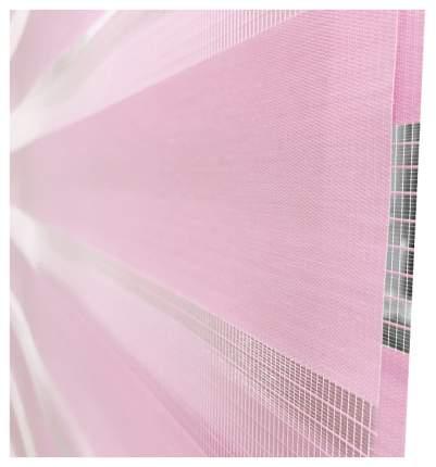 Рулонная штора Эскар День-Ночь 170х52 цвет розовый