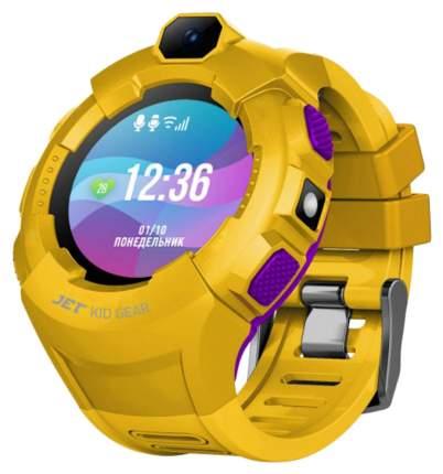 Детские смарт-часы Jet Kid Gear Yellow/Violet