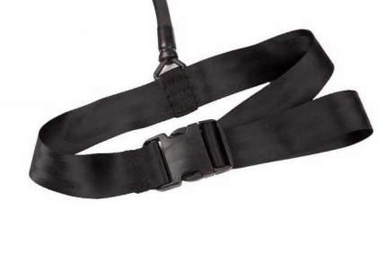 Пояс к жгуту для плавания MadWave Waist Belt M0771 01 0 00W черный