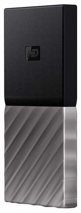 Внешний SSD накопитель Western Digital My Passport 1TB Grey/ Black (WDBKVX0010PSL-WESN)